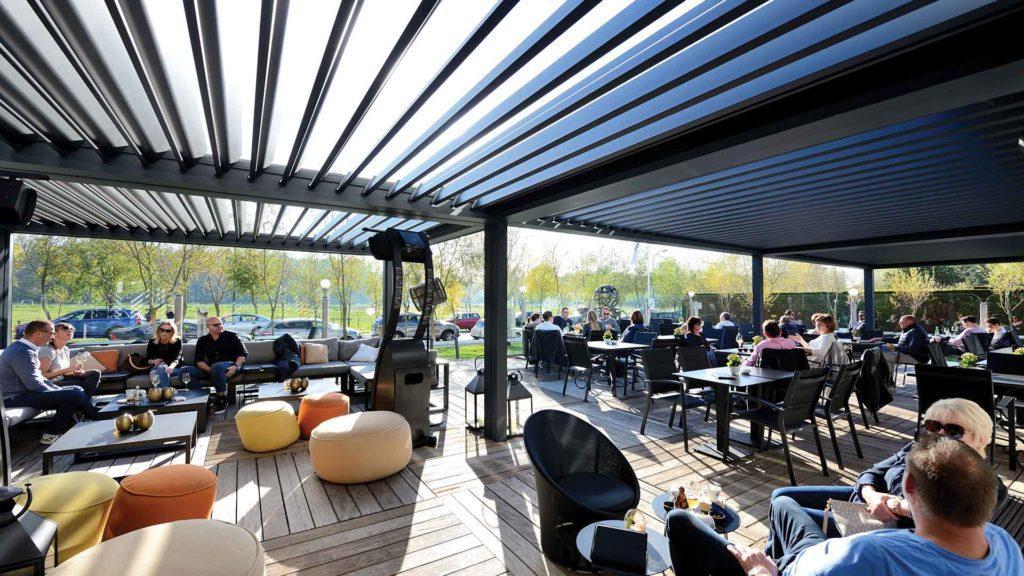 pergola restaurant belgique