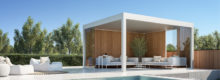 pergola toiture fixe aluminium